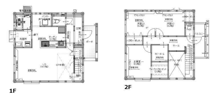 ZERO-CUBE STYLING HOUSE<br>   図面