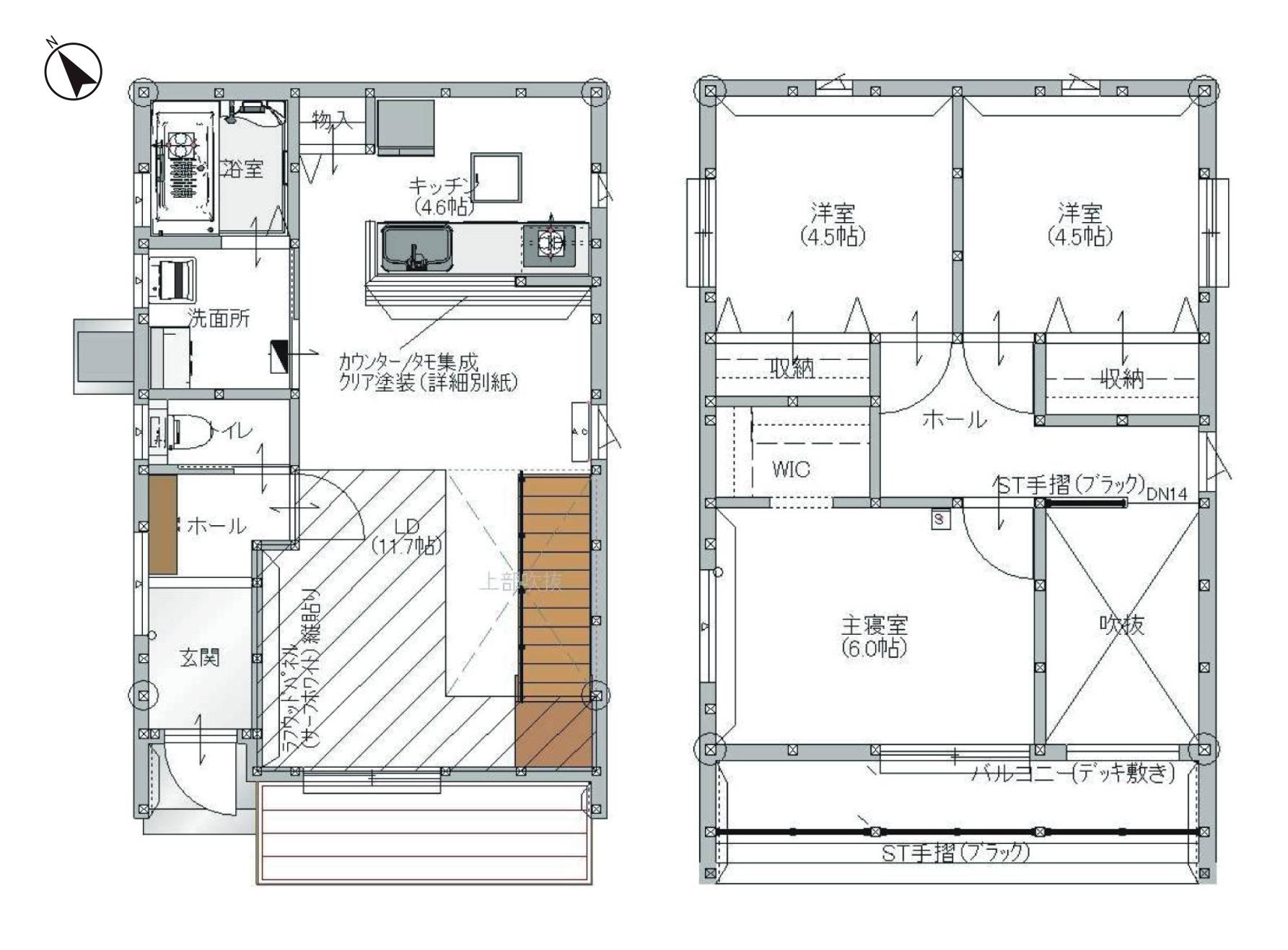 WTW HOUSE図面