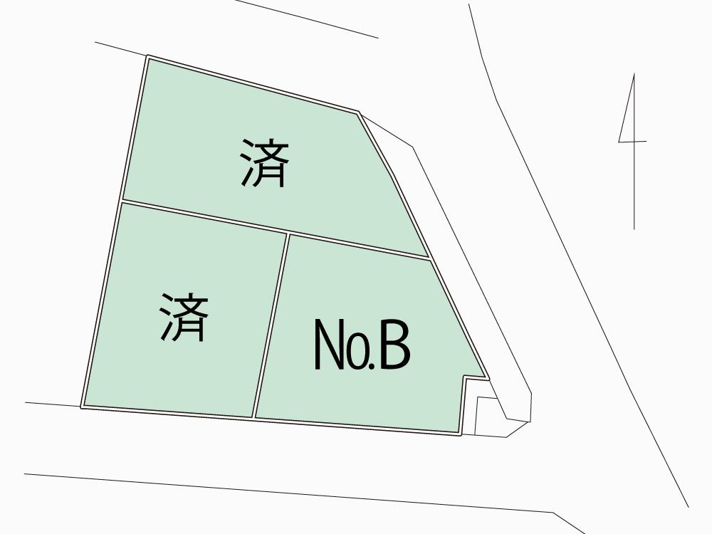大磯町生沢《売地》残り1区画!!【1,485万円】