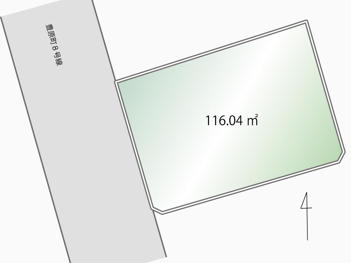 平塚市豊原町≪売地≫新規1宅地!【2,080万円】